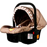 Baybee Baby Car Seat cum Carry Cot with Canopy (Chocalate)