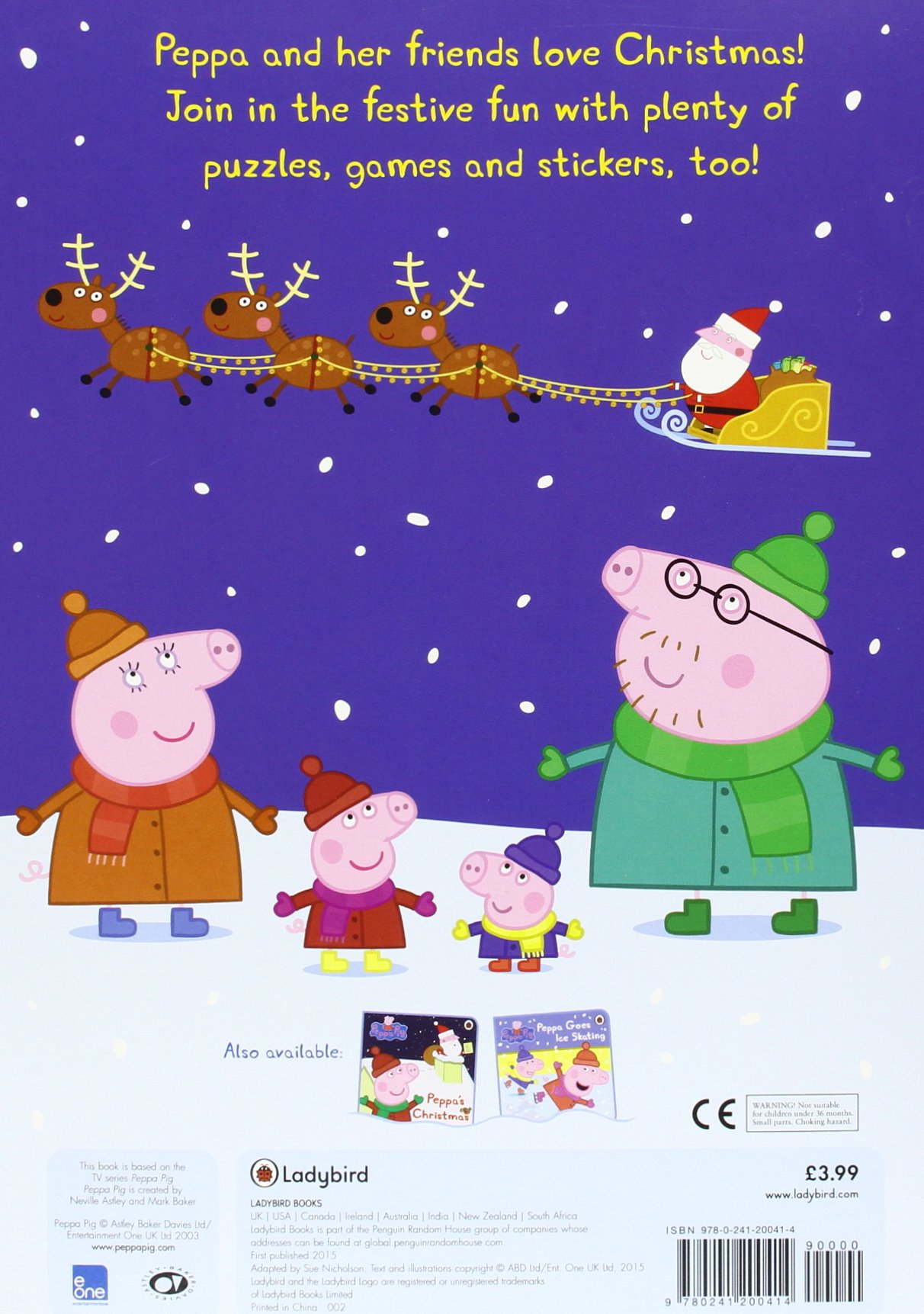 Christmas In Australia Book.Peppa Pig Peppa S Christmas Fun Sticker Activity Book