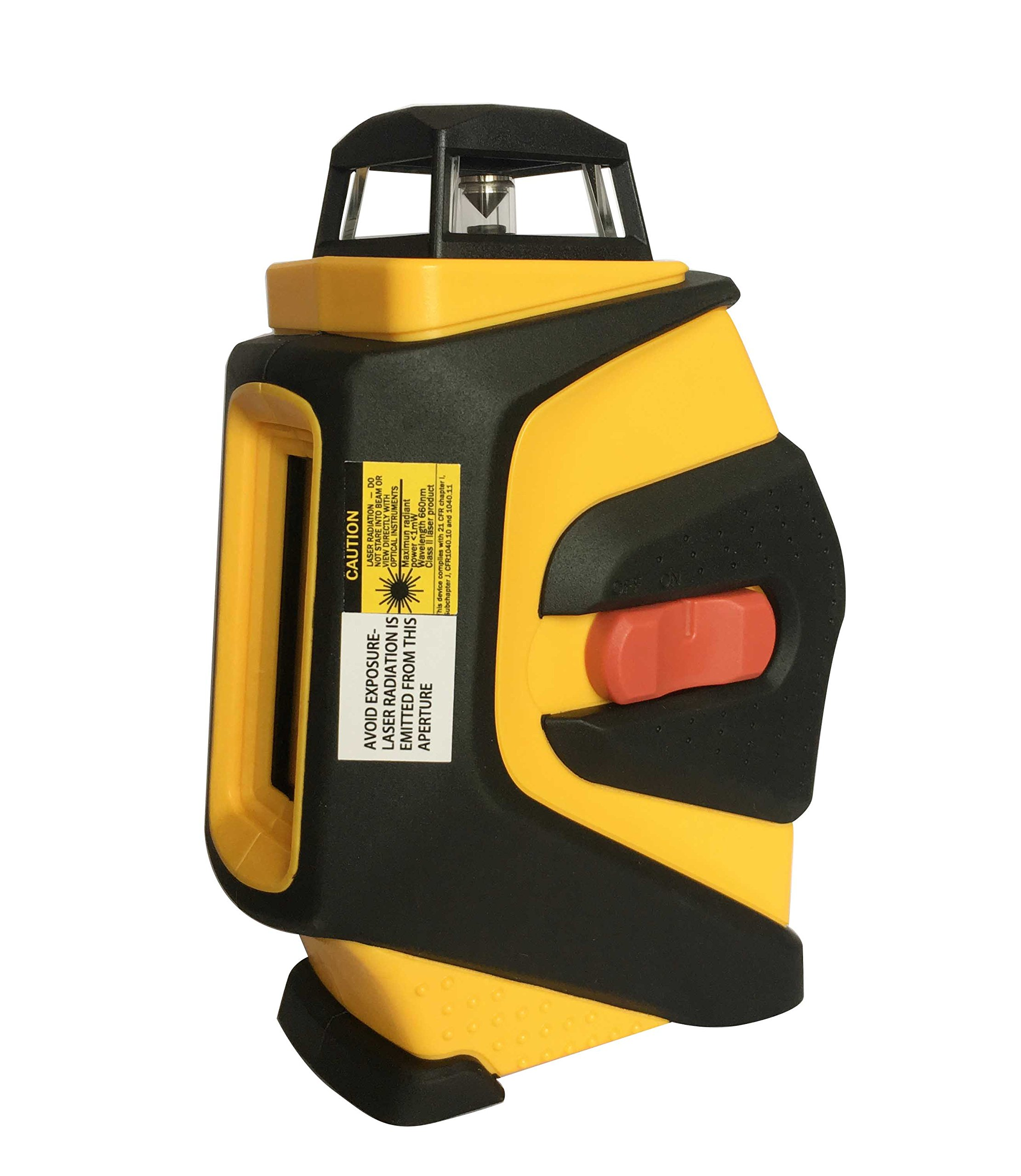 Smatol 360 Degree Self Leveling Laser Level-Vertical and Horizontal Cross Line Laser with Magnetic Mounting Base and Carry Pouch