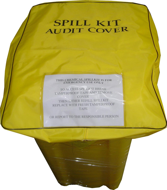 Wheelie Bin Spill Kit Audit Cover | 125 Litre Yellow Shield 300510