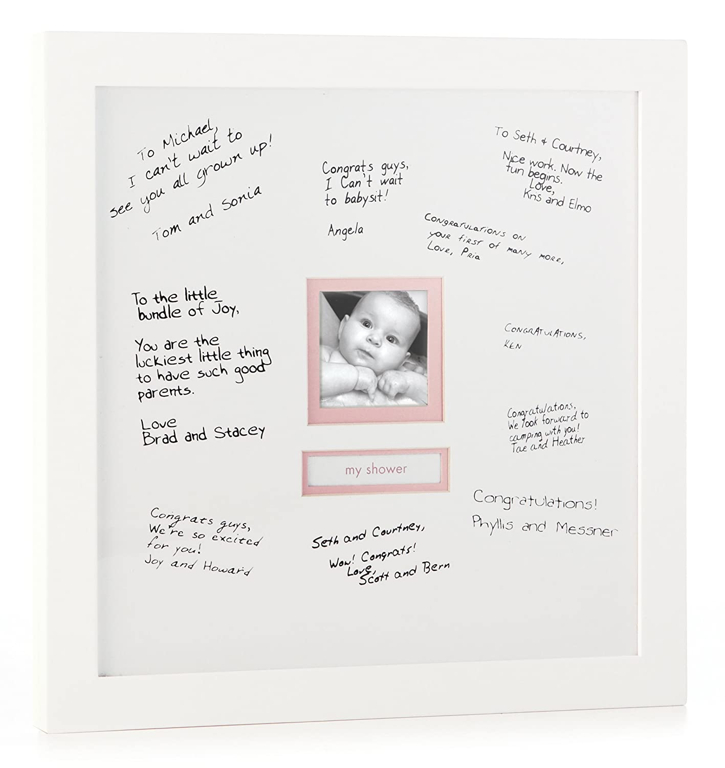 Amazon.com : Pearhead Signature Frame, White (Discontinued by ...