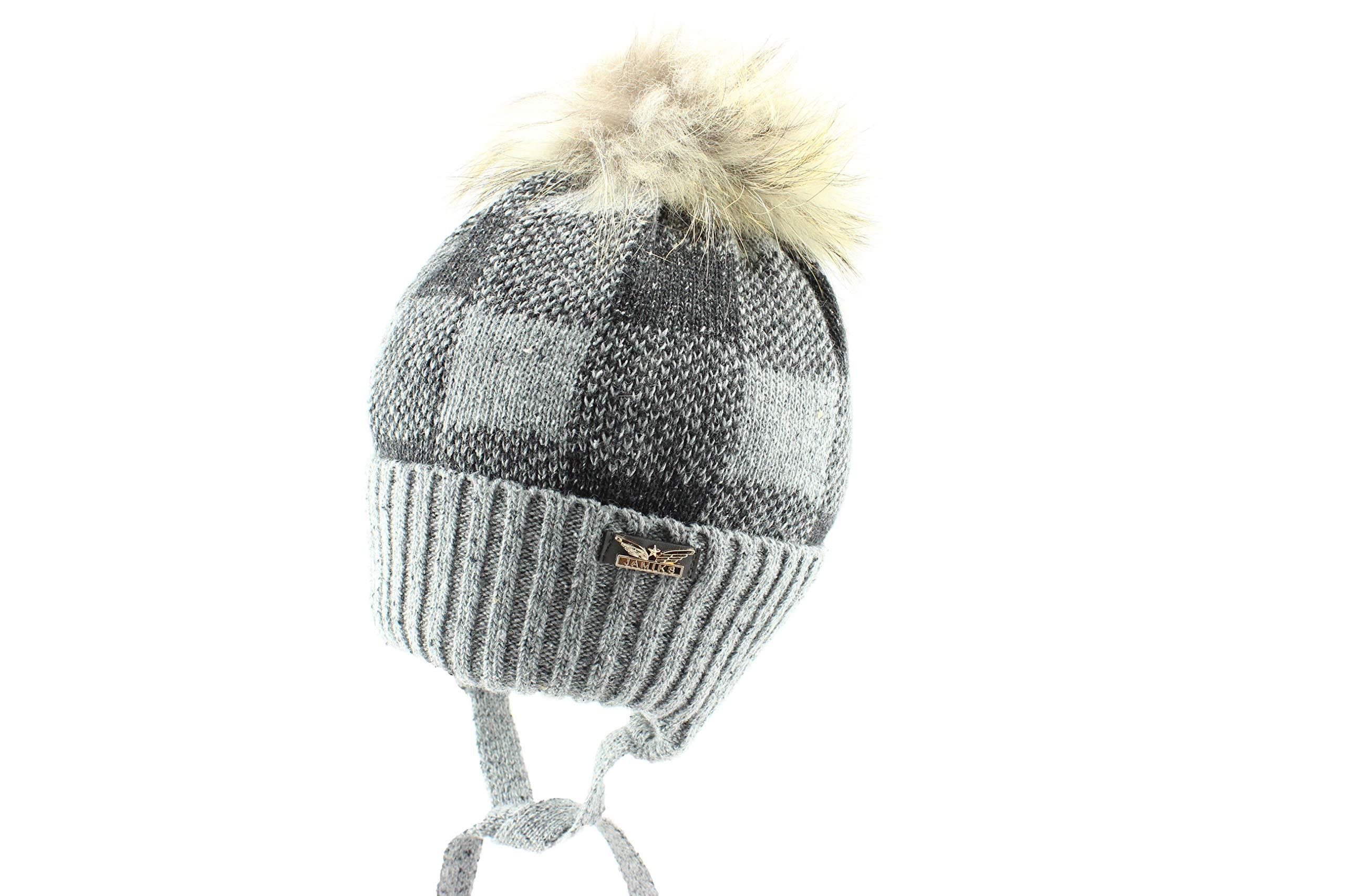 Jamiks Kobako Boys Winter Pom Pom Beanie Hat