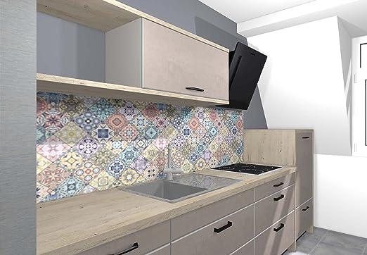 Dr. Inkjet Küchenrückwand/Nischenverkleidung/Fliesenspiegel