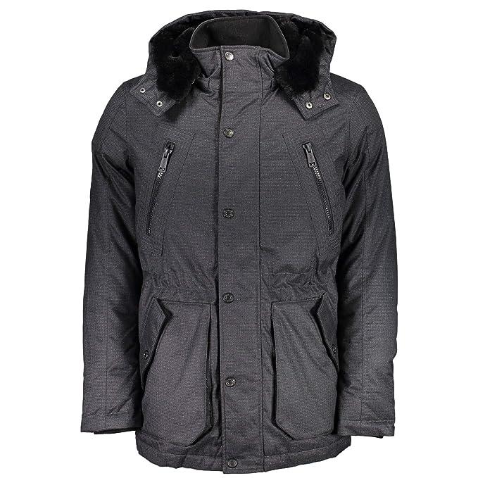 lujo gran selección mayor selección GUESS Jeans M74L00W9Q30 Plumas Hombre: Amazon.es: Ropa y ...