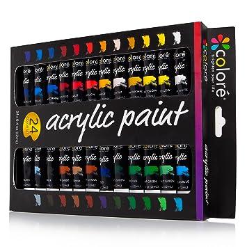 Colore Ensemble De Peinture Acrylique Parfait Pour Toile De