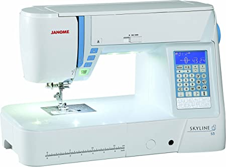 Janome Skyline S5 Máquina de coser: Amazon.es: Hogar