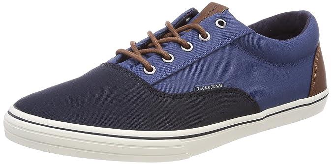 Jack & Jones Jfwvision Block, Zapatillas para Hombre, Azul (Navy Blazer), 46 EU