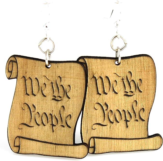 We the People Earrings