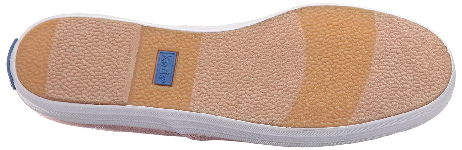 Keds Women's Taylor Swift Metallic Canvas Fashion Sneaker B01BD1KA7W 9.5 B(M) US|Light Pink