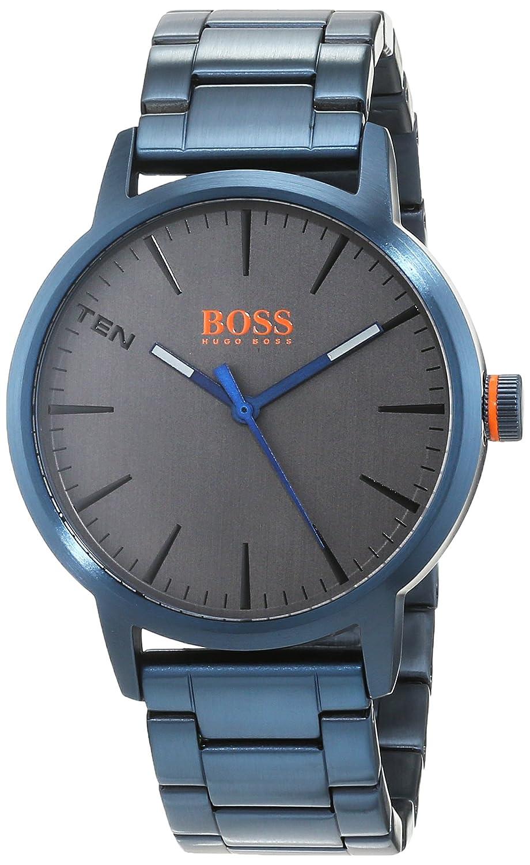 ebfd66dcc848 Hugo Boss Orange Homme Analogique Classique Quartz Montres bracelet avec  bracelet en Acier Inoxydable - 1550059