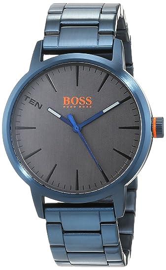 Hugo Boss Orange Reloj Análogo clásico para Hombre de Cuarzo con Correa en Acero Inoxidable 1550059