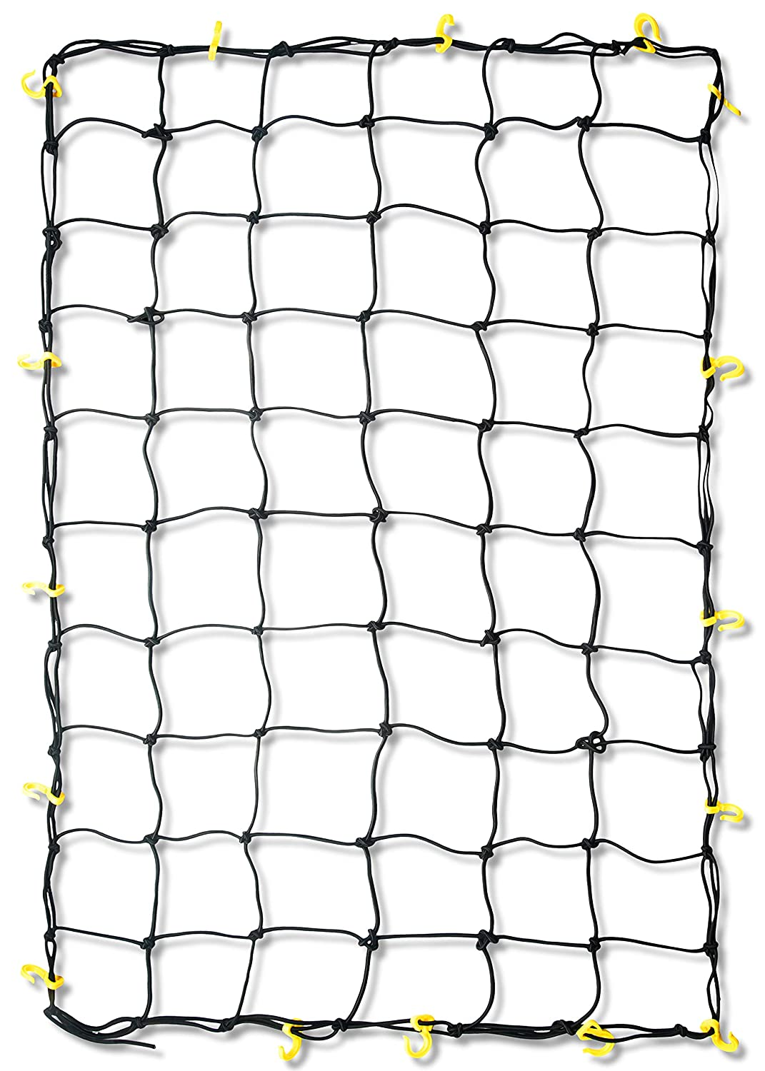 "Tooluxe 50970L Extra Large Bungee Cargo Net with 28 Hooks, 72"" x 96"" 