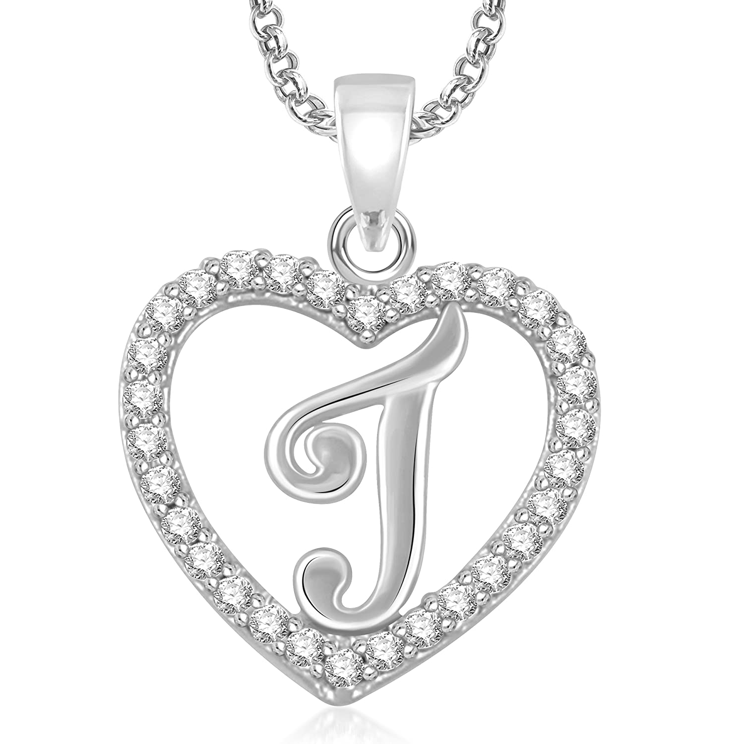 Valentine gifts meenaz silver plated j letter pendants alphabet valentine gifts meenaz silver plated j letter pendants alphabet pendant with chain for men meenaz amazon jewellery aloadofball Image collections