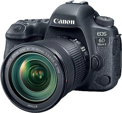 Canon Eos 6d Mark Ii Slr Digitalkamera 3 Zoll Kit Inkl Kamera