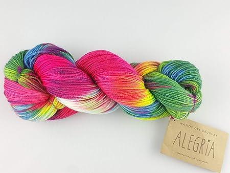 Sock wool autumn sock yarn hand-dyed hand dyed 100g