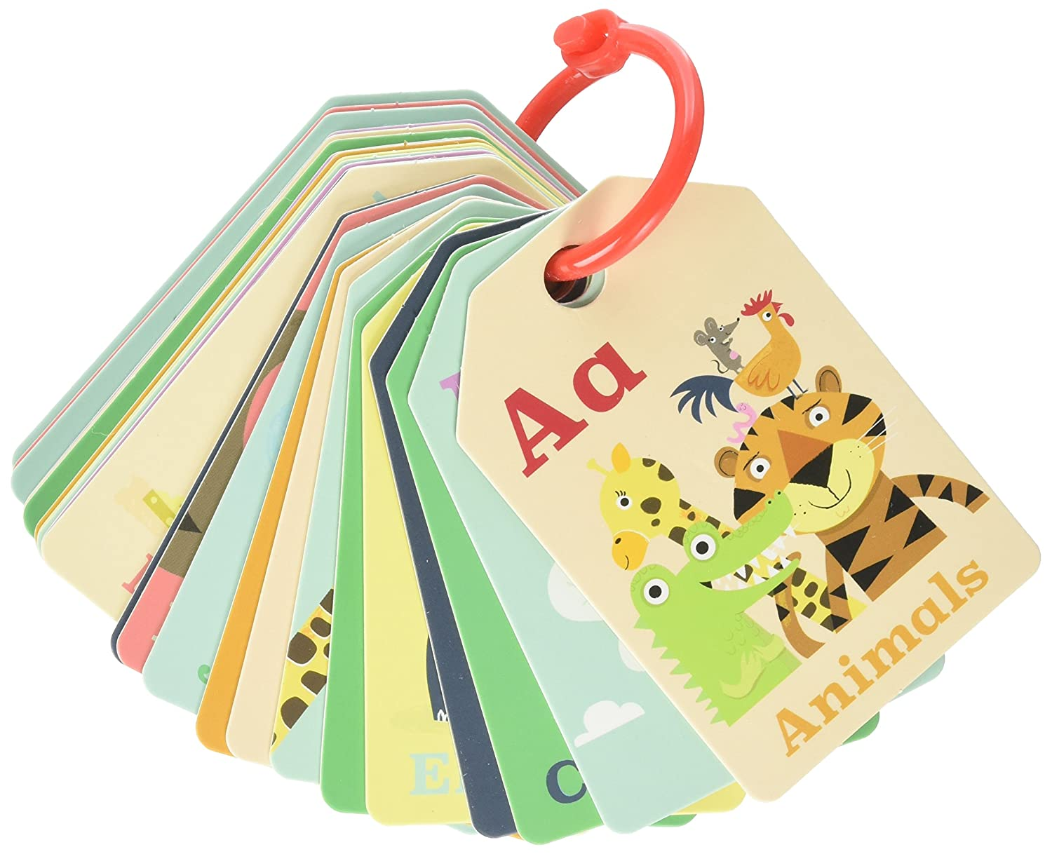 Tiger Tribe Flash Cards Animal ABC Learning Toy