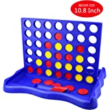 IAMGlobal 4 in a Row, Four in a Row Game, Line Up 4, Classic Family Toy, Board Game With Sunflower Disc For Kids and Family For Fun (Sunflower)