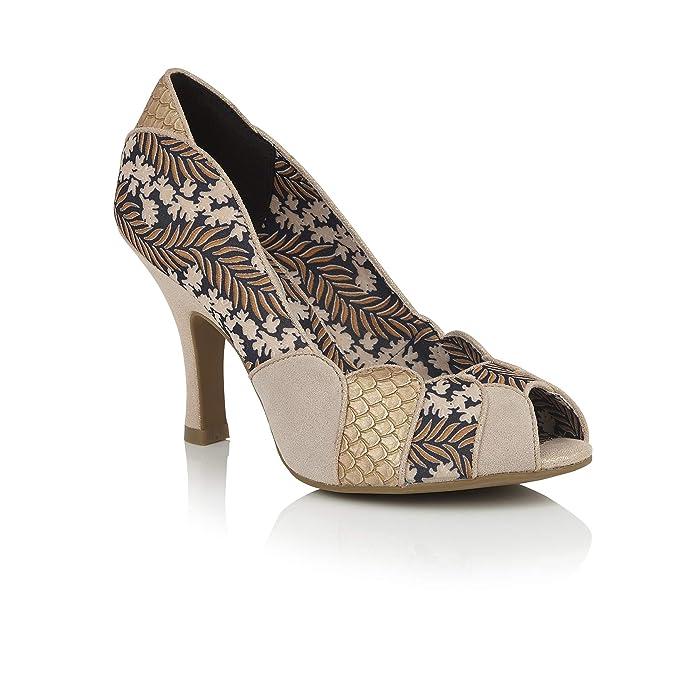 a5edad8de6058 Ruby Shoo Women's Art Deco Matilda Peeptoe Heels & Matching Canberra Bag:  Amazon.co.uk: Shoes & Bags