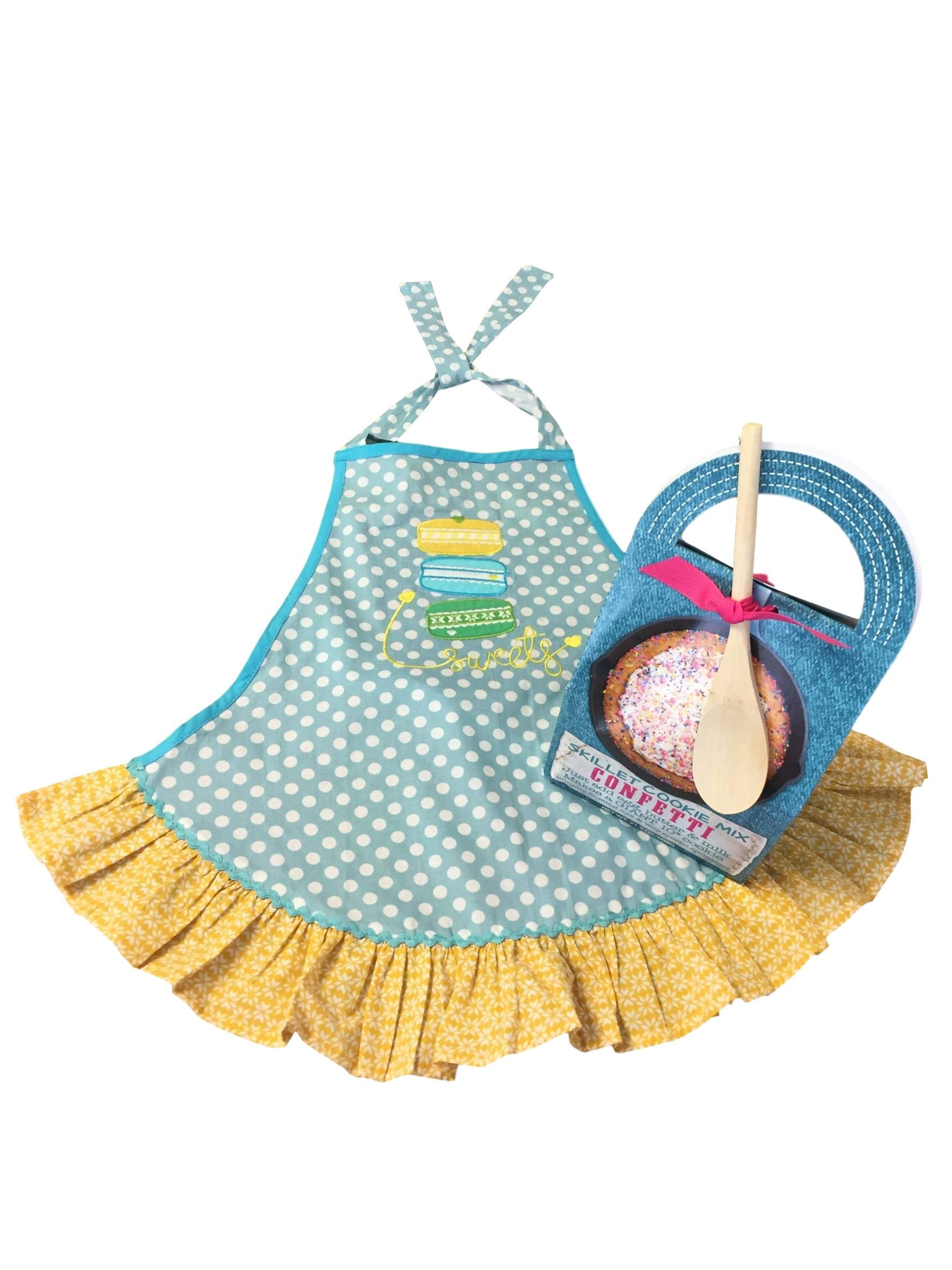 Baking Bundle with Girl's 'Sweets' Apron and Skillet Confetti Cookie Mix