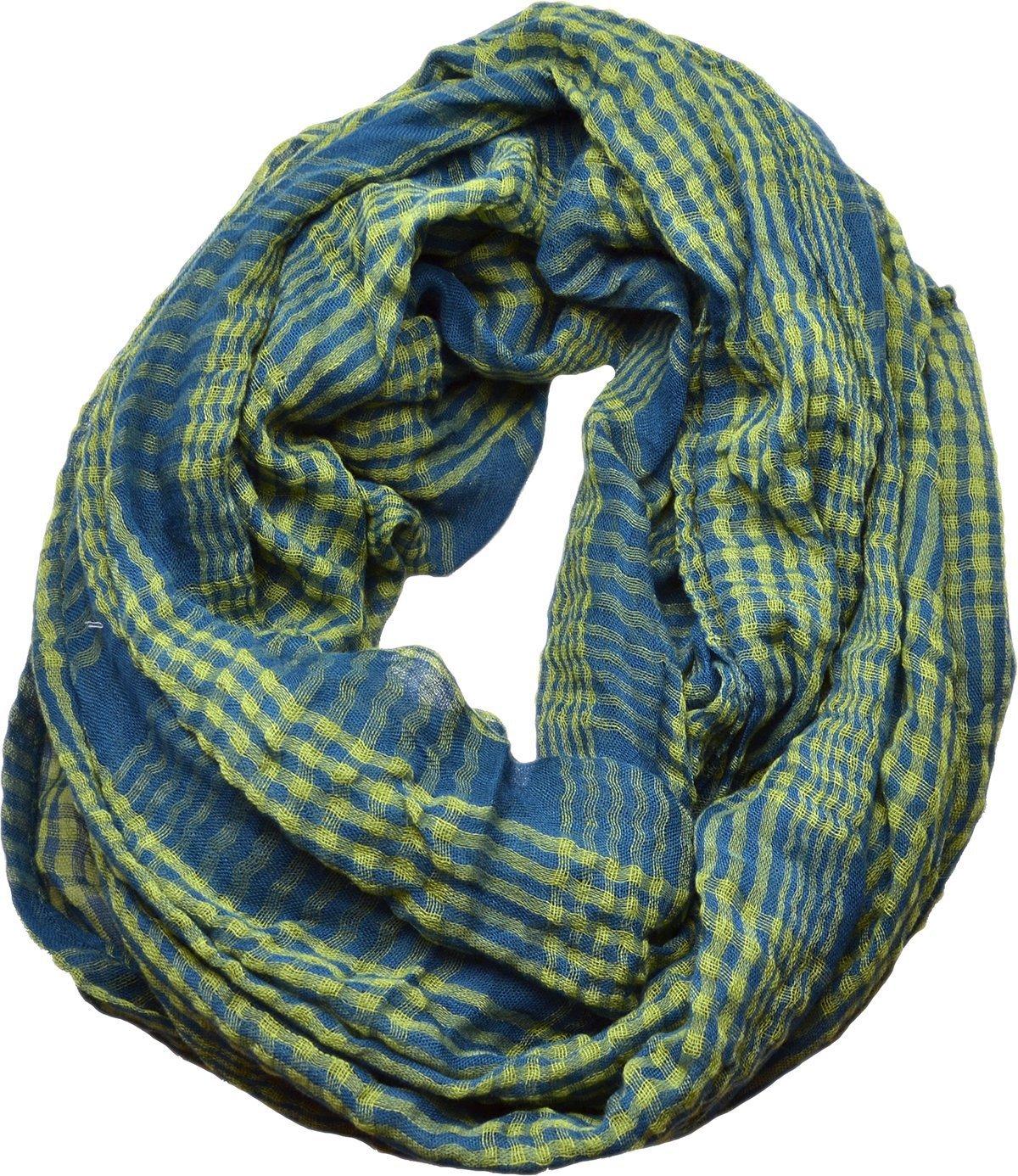 Echo Design Womens Infinity Scarf (Teal, Green)
