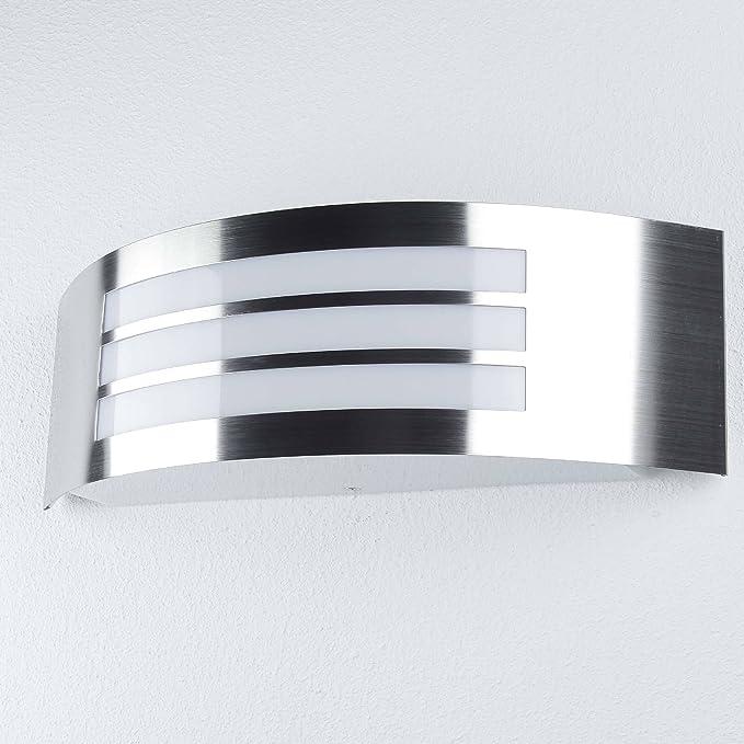 Roma Außenwandleuchte modern Kunststoff//Metall anthrazit grau Außenlampe Wandlam