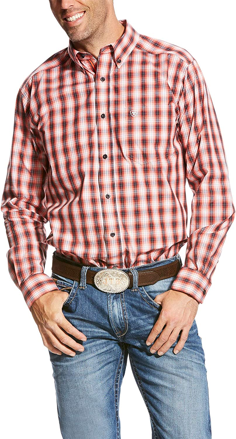 ARIAT Mens Fitted Long Sleeve Shirt