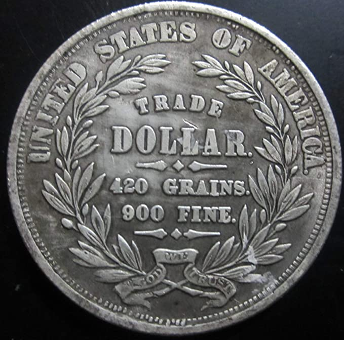 MarshLing Best Morgan US Dollars-1872 Coin Collecting-US Dollar USA Old Pre Morgan Dollar -Handmade Coin Perfect Quality