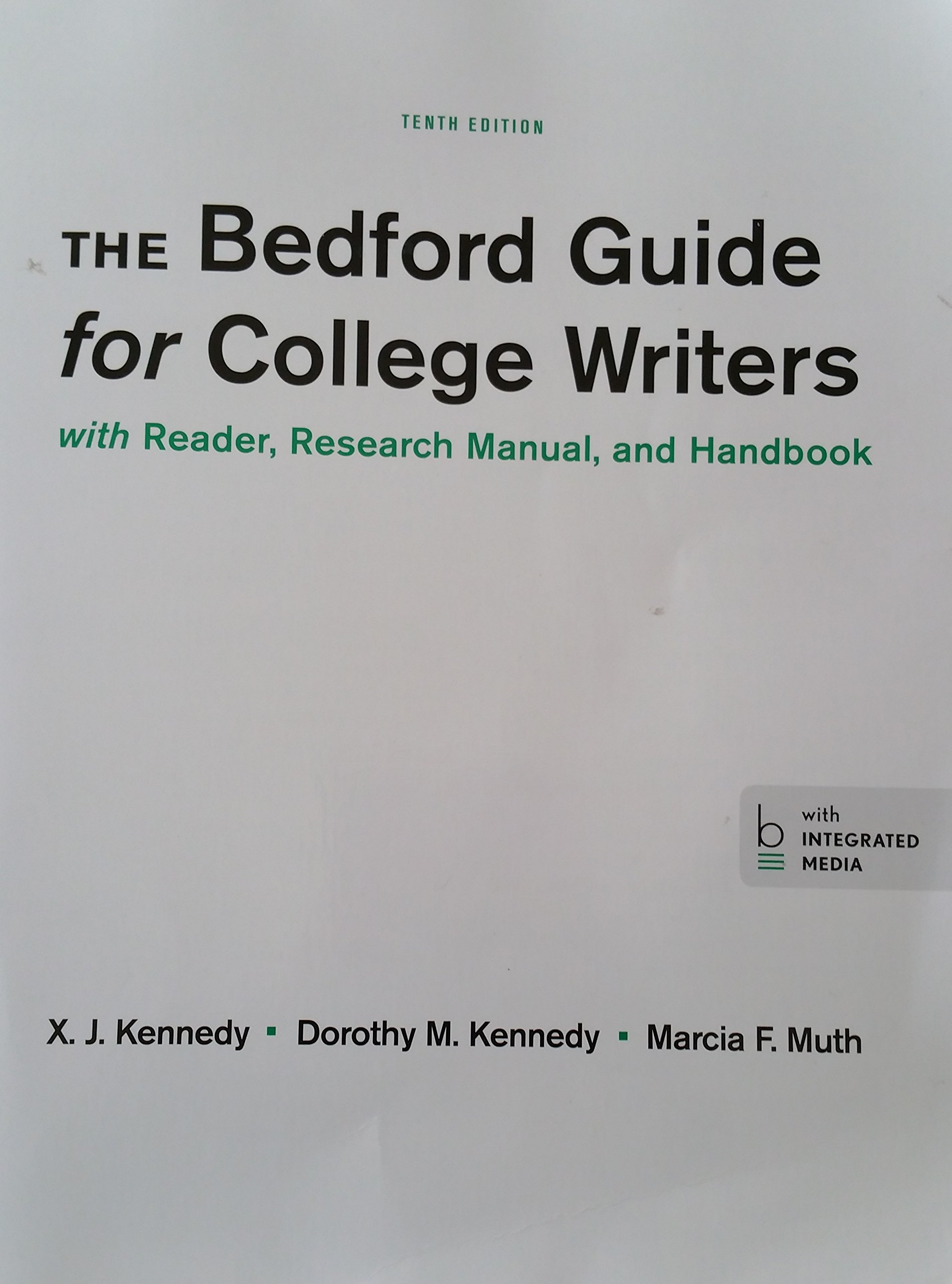 The bedford guide for college writers with reader research manual the bedford guide for college writers with reader research manual and handbook 10th edition kennedykennedymuth 9781457694882 amazon books fandeluxe Images