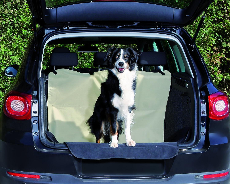 Trixie 13238 Kofferraum Schondecke 1 80 1 30 M Beige Schwarz Auto