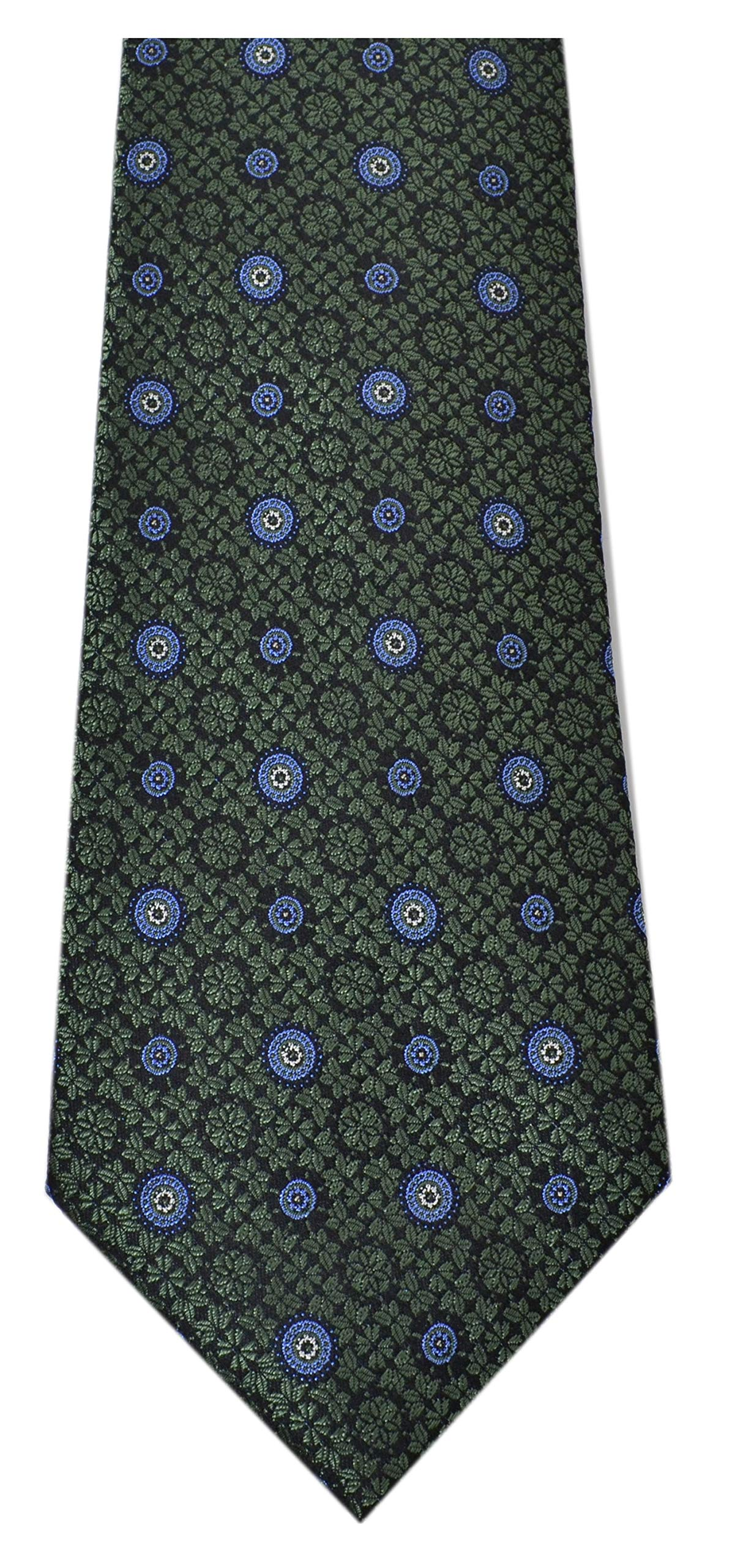 Tasso Elba Men's Neck Tie DIPIERO MEDALLION Green