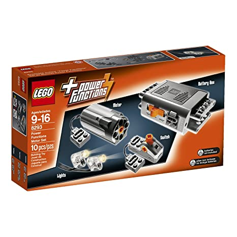 Amazoncom Lego Technic Power Functions Motor Set 8293 Building Kit