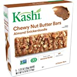 Kashi, Chewy Nut Butter Bars, Almond Snickerdoodle, Vegan, Gluten Free, Non-GMO Project Verified, 6.15 oz (5 Count)