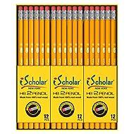 iScholar Gross Pack Pencils, 2, Yellow, Box of 144 (33144)