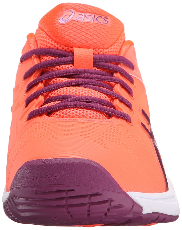 ASICS Women's Gel-Solution Speed 3 Tennis Shoe B00ZCFBUNO 5 B(M) US|Flash Coral/Plum/Flash Coral