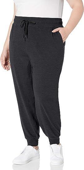 Amazon Essentials Pantalones De Jogger De Talla Grande Con Tecnologia Cepillada Pntalones Para Correr Para Mujer Amazon Com Mx Ropa Zapatos Y Accesorios