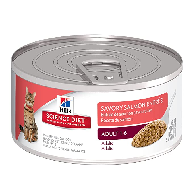 4. Hill's Science Diet Adult Wet Cat Food - High Quality Wet Food