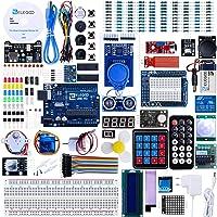 ELEGOO UNO R3 Ultimate Starter Kit, kompatybilny z Arduino IDE kompletny projekt elektronika z niemieckim tutorialem…