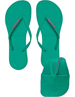 2945c9d94f5428 Salvatos Foldable Flip Flops On The Go. Flexible