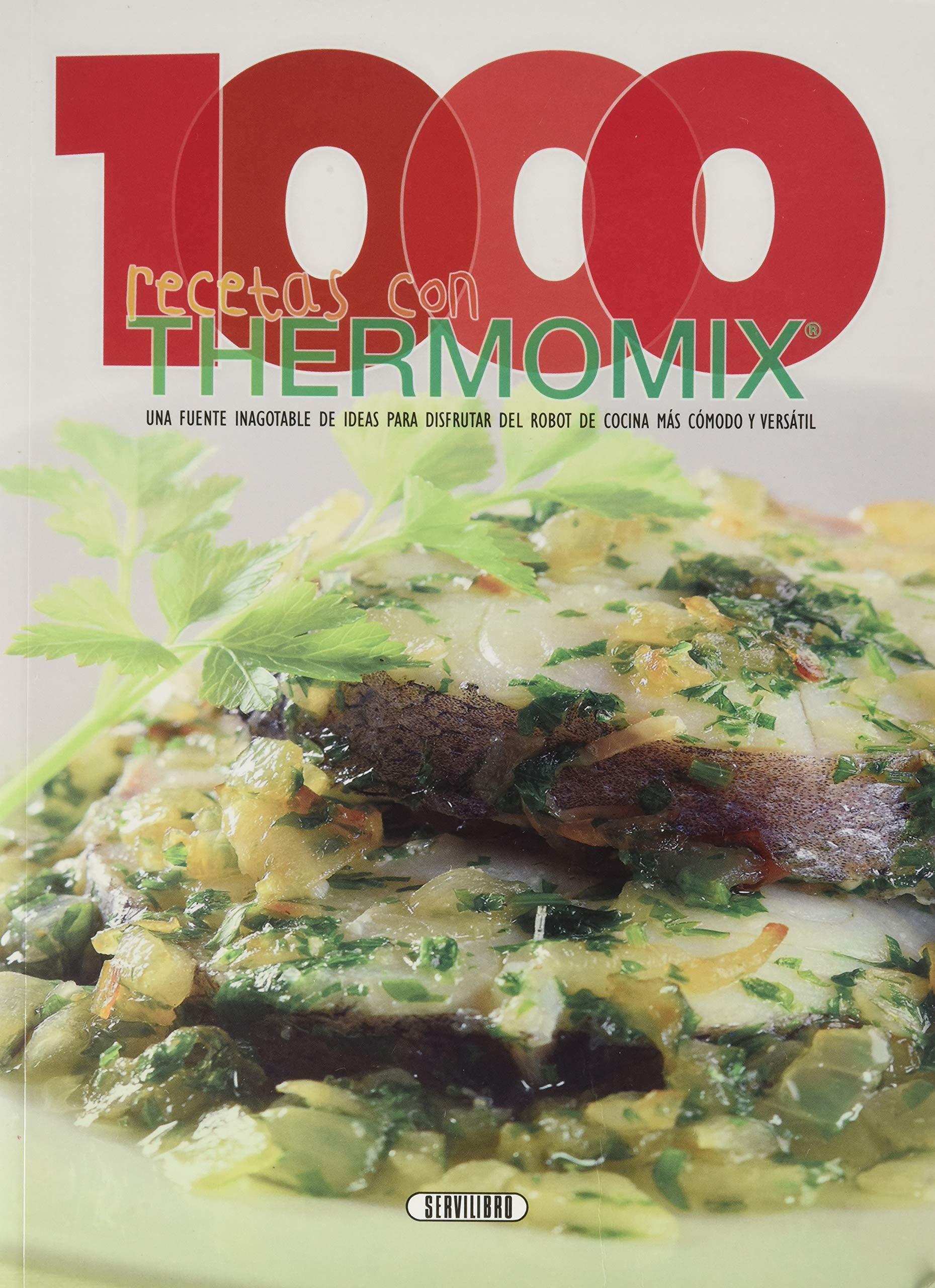 1000 recetas con Thermomix: Amazon.es: Equipo de Servilibro: Libros