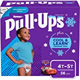 Pull-Ups Cool & Learn Boys' Training Pants, 4T-5T, 56 Ct