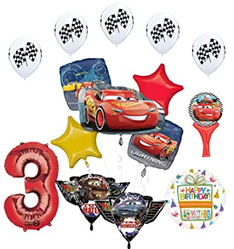 Cars Lightning McQueen and Friends - Globo decorativo para ...