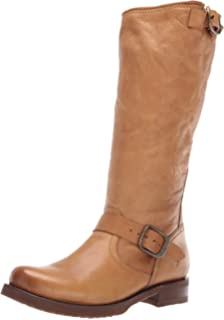 78bcb38acad4 FRYE Women s Veronica Slouch Motorcycle Boot