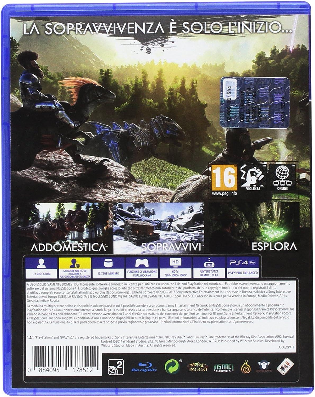 Ark Survival Evolved Explorers Ed. - PlayStation 4 [Importación ...