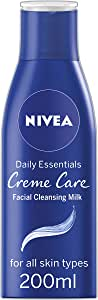 NIVEA Daily Essentials Crème Care Facial Cleansing Milk, 200ml
