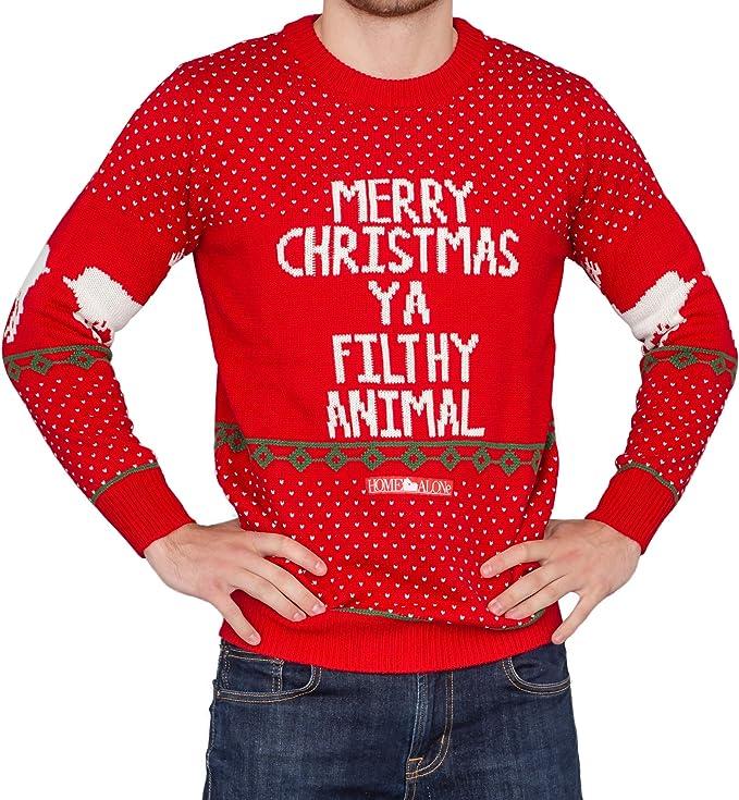 Home Alone Merry Christmas Ya Filthy Animal Ugly Christmas Sweater