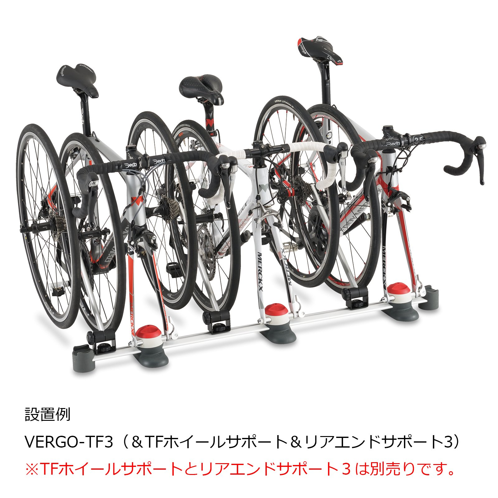 Minoura VERGO-TF3 Interior Car Rack for Bicycles, Brushed Silver by Minoura (Image #2)