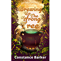 Brewing Up the Wrong Tree (Ivy's Botany Shop Cozy Witch Mystery Series Book 5)
