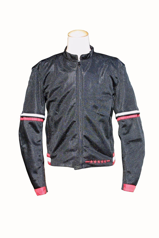 エスケーワイ (S.K.Y) GREEDY メッシュジャケット ブラック/レッド Lサイズ ワイドタイプ GNS-276 B00TP7M8X6 L/ワイド ブラック/レッド ブラック/レッド L/ワイド