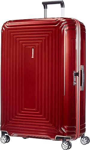 Samsonite Suitcase, Metallic Red