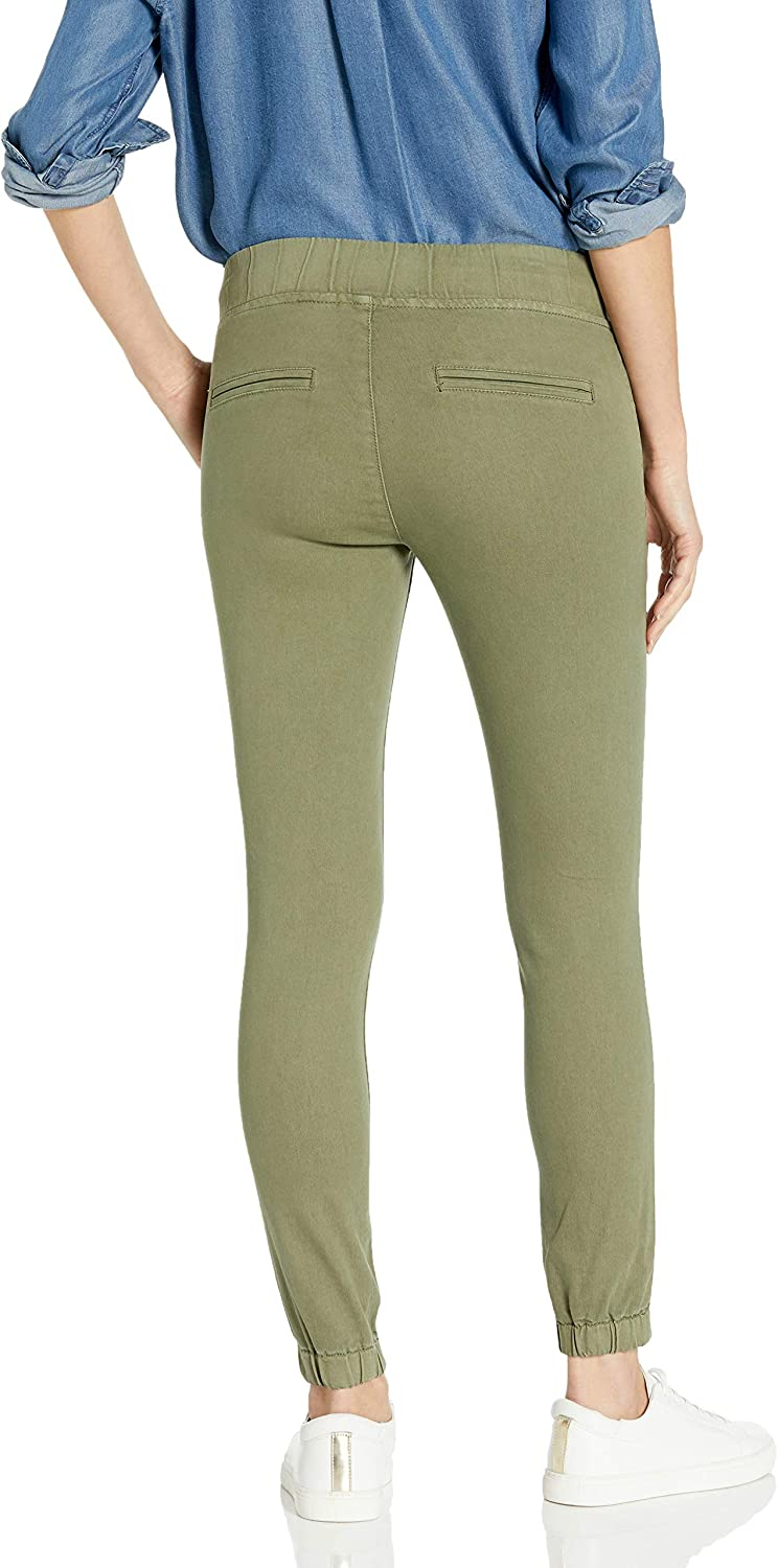 COVER GIRL Women's Pull on Camo Solid Mid Rise String Jogger Fit Sporty Active